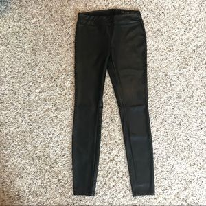 Blank NYC leather pants